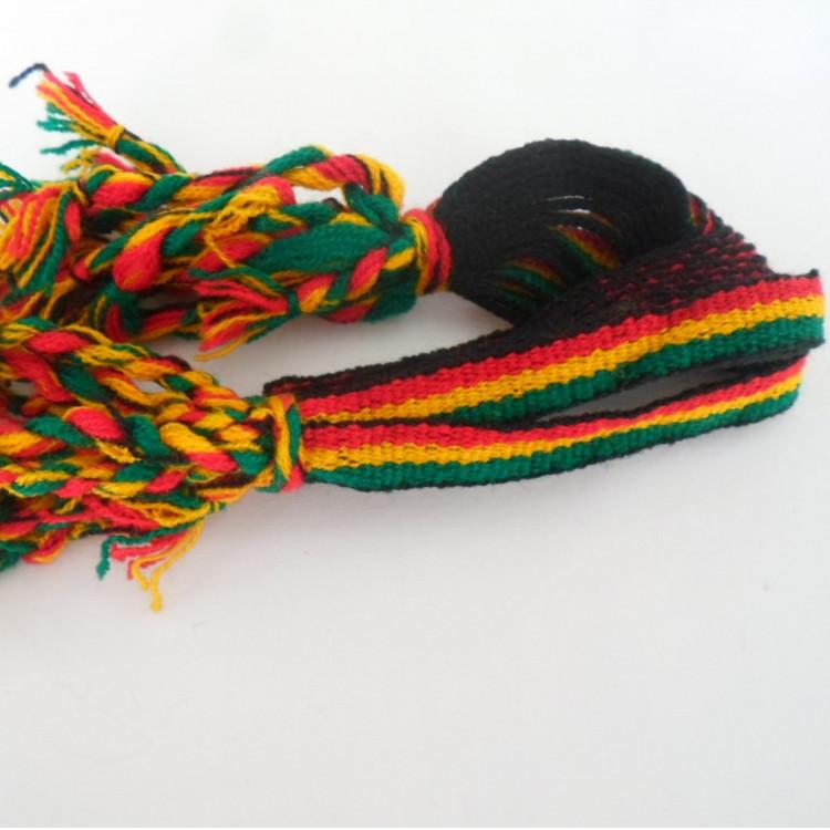 Pulseira Do Reggae Com 5 Dúzias Ref 524 Jamaica