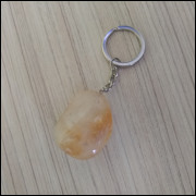 Chaveiro de Pedra Citrino Ref: 8079